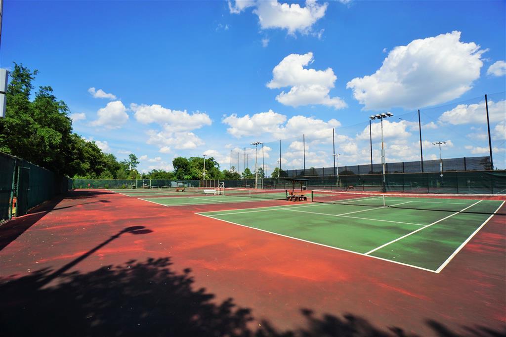 Memorial Park Tennis Center in Houston, Texas